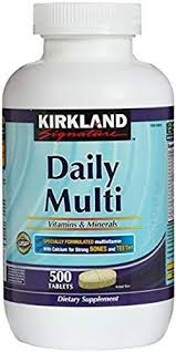 Buy Kirkland Signature Daily Multi <b>Vitamins</b> & Minerals <b>Tablets</b>, 500 ...