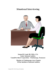 situational interviewing interview