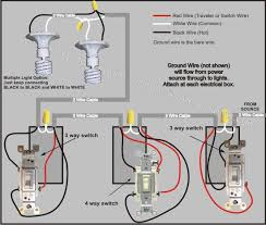 4 way switch wiring diagram power from lights electrical 4 way switch wiring diagram power from lights
