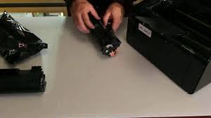 Как установить <b>картридж CE285A</b> в принтер HP P1102 - YouTube