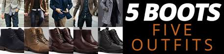 5 <b>Fall</b> Outfits For <b>Men</b> | Best Boots For <b>Mens Autumn</b> Style