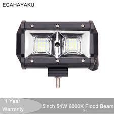 <b>ECAHAYAKU</b> 1x 10 30V DC 4x4 Truck Car ATV <b>5</b> 54W Spot Beam ...