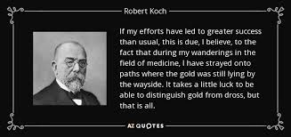 TOP 8 QUOTES BY ROBERT KOCH | A-Z Quotes via Relatably.com