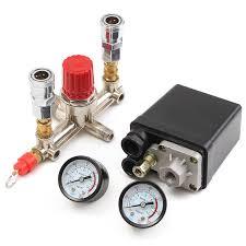 NEW Air Compressor <b>Pressure Control Switch</b> Valve Manifold ...