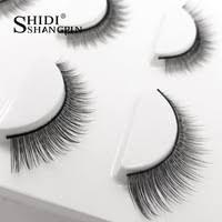 <b>3 pairs</b> eyelashes