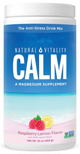 <b>Natural Vitality</b> Calm, Magnesium Citrate Supplement Powder, <b>Anti</b> ...