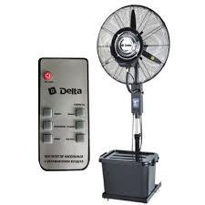 <b>Вентилятор</b> напольный с увлажнителем <b>Delta DL</b>-<b>024H</b>, Ø66 см ...