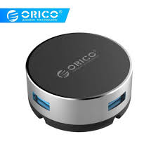 <b>ORICO</b> Alumunium <b>Multi</b> 4 Ports <b>USB</b> 3.0 2.0 <b>HUB</b> Portable High ...