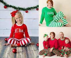 holiday matching family pajamas com personalized christmas pajamas