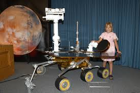 mars exploration rover sofi collis a model of mars exploration rover