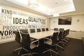 beautiful conference room ideas featuring black and white striped small office meeting design with beige finish astounding office break room ideas