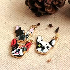 30pcs) French Bulldog Charms <b>Dangles Pendant</b> for <b>Bracelet</b> ...