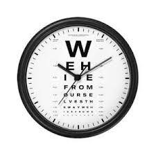 Znalezione obrazy dla zapytania optometrist clock