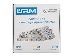 <b>лента светодиодная комплект OGM</b> 12В 36Вт 5050 60д м IP20 2 ...
