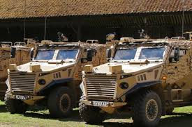Protected patrol vehicles | The British Army