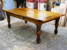 painted farmhouse table solid oak top