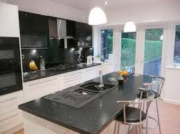 kitchen the glorious black and sparkling granite countertop for mini bar and one chandelier free black mini bar