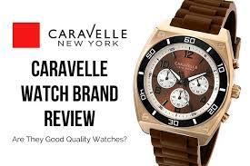 <b>Caravelle</b> Watch Brand Review - Are They Good Quality Watches?