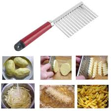 <b>1pcs</b> New Potato Knife Stainless Steel <b>Potato Chip</b> Dough ...