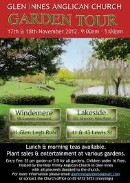 garden tour 2012 glen innes anglican church this year