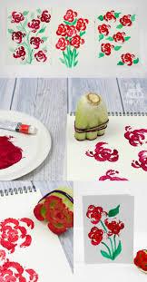 <b>Printing Flowers</b> with Celery Stalks – Vegetable <b>Printing</b> | Toddler art ...