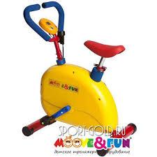 <b>Детский</b> велотренажер <b>Moove&Fun</b> SH-02C с компьютером