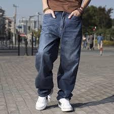 Мужские Широкие свободные рабочие <b>джинсы</b> с <b>карманами</b> ...