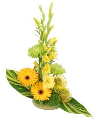 Wings of <b>Gold</b> Floral Arrangement | Just Because | <b>Flower</b> Shop ...