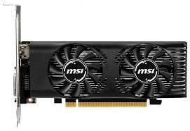 <b>Видеокарта MSI GeForce GTX</b> 1650 4GT LP OC 4GB — купить по ...
