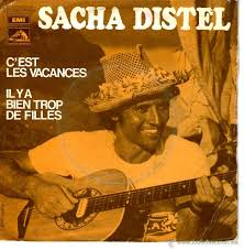 Resultado de imagen de Sacha Distel discos