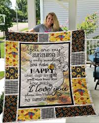 Anime <b>Sunflower Printed</b> Home <b>Sofa</b> Cover Quilt Queen King For ...