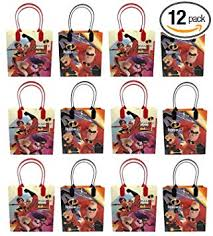 12pc Disney Incredibles 2 Party Goodie Bags Party ... - Amazon.com