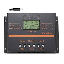 Akozon MPPT Charge Controller PCB Circuit Board <b>12V 24V Solar</b> ...