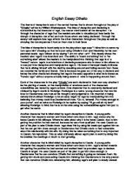 othello essay the theme of deception   gcse english   marked by  page  zoom in