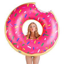 <b>Надувной круг BigMouth</b> Donut, розовый — купить в интернет ...