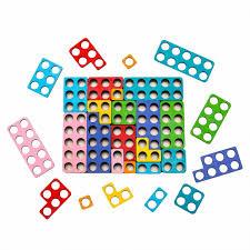 <b>Деревянная игрушка Нумикон</b> цветная игра Numi-con ...