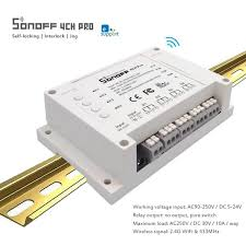 Hot Discount #1aaa - SONOFF <b>4CH R3/ PRO R3</b> Wifi Smart Switch ...