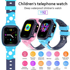Y92 Children's Smart Watch 1.44 Inch Screen Smart Watch WiFi ...