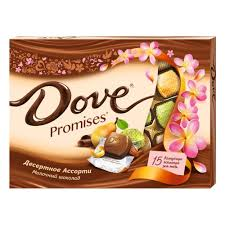 Ассорти шоколадных <b>конфет Dove Promises</b>, 118 гр. — купить в ...