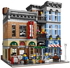 lego office building. each year lego puts out an exclusive modular building and they are always pretty special in january of 2015 detectiveu0027s office 10246 hits the shelves