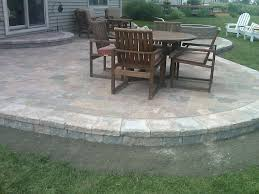 simple patio custom