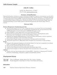 computer sperson resume resume template communication skills examples job application good marcus buckingham examples resume skills