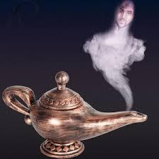 Resultado de imagem para lampada de aladino