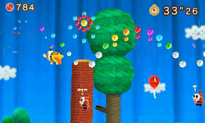Image result for yoshi's woolly world 3ds