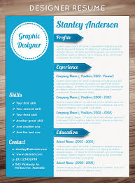stunning creative resume templatesresume design donwload resume