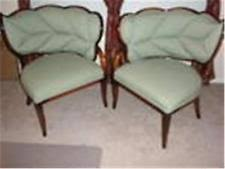 pair of stylish french art deco chairs art deco chairs