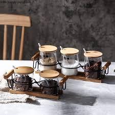 Домашняя <b>керамика</b>, <b>Набор банок</b> для специй, комбинированные ...
