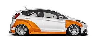 Carbon Pixels wide body kit <b>2014</b>-2019 Fiesta ST *<b>FREE SHIPPING</b> ...
