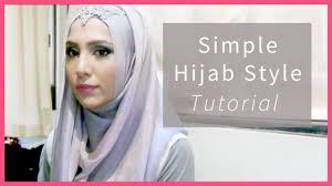 england style steps: easy hijab tutorial in  steps for school work formal amena