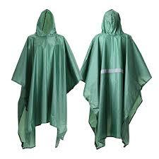 Buy JTENG <b>Waterproof</b> Ripstop Hooded US <b>PVC Camouflage</b> Rain ...